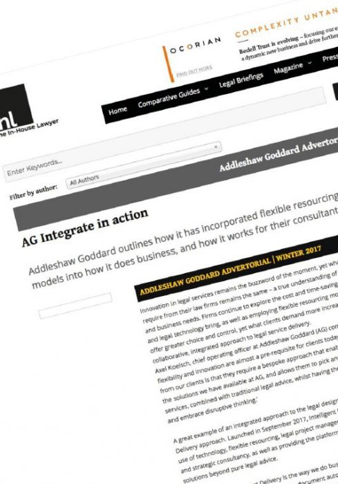 AG Integrate article