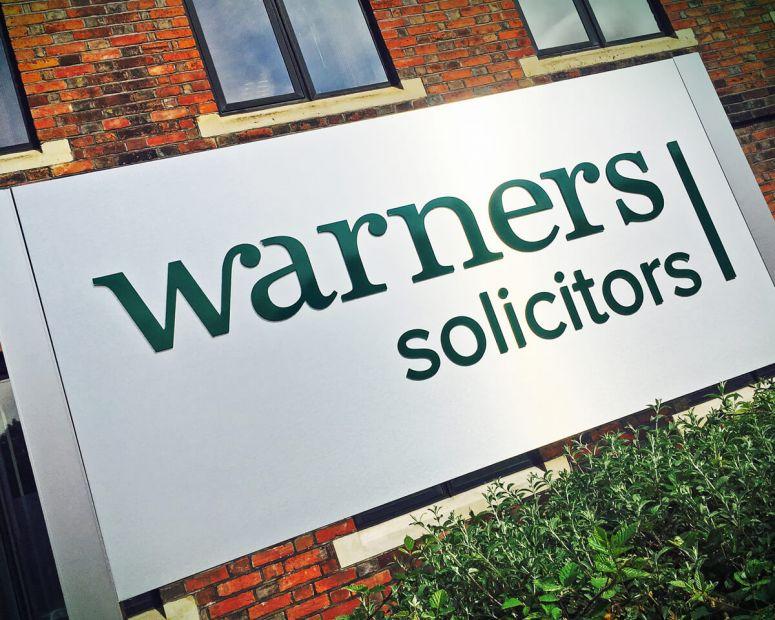 Warners Sign