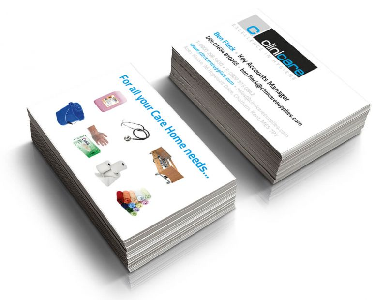 Clinicare Business Cards