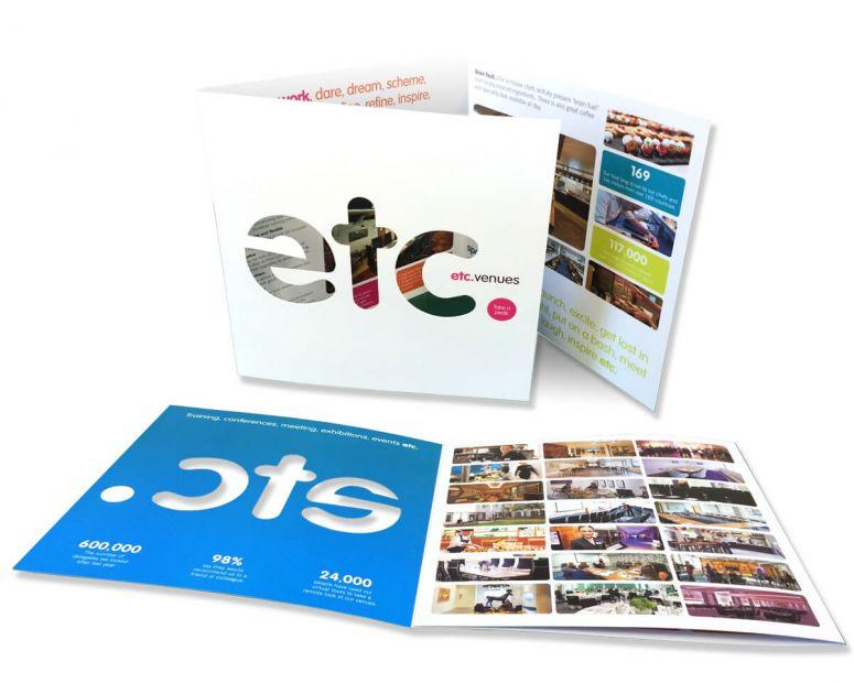 etc. venues generic brochure