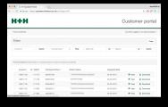 H+H Customer Portal